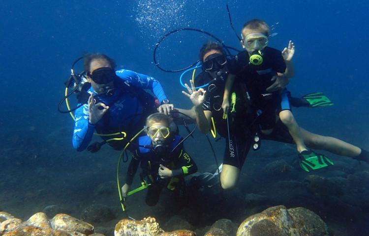 Kurzy potápění od 10 let